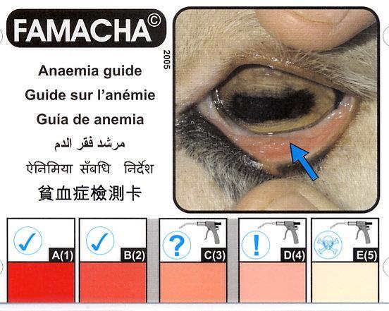 FAMACHA Chart