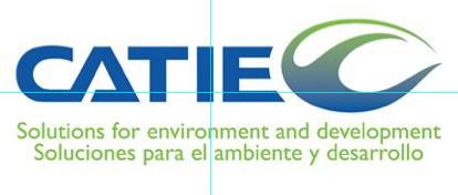 Website CATIE Costa Rica